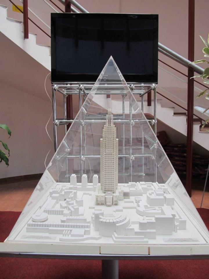 Pavlović kula planirana je u centralnom delu grada visine 177 metara sa 40 spratova.