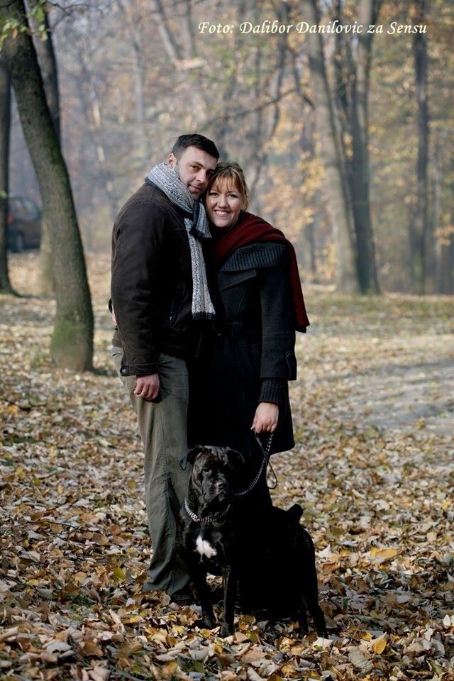 Nada i Sasa Dalibor Danilovic za Sensu