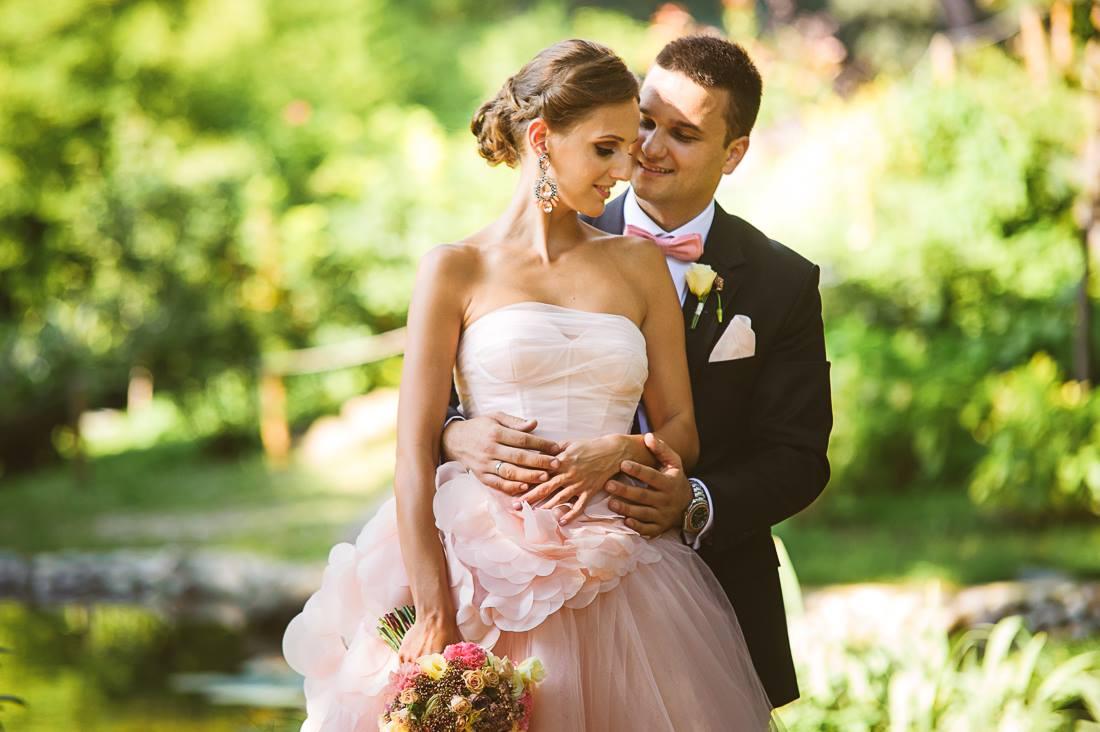 Silvana i Igor na vencanju