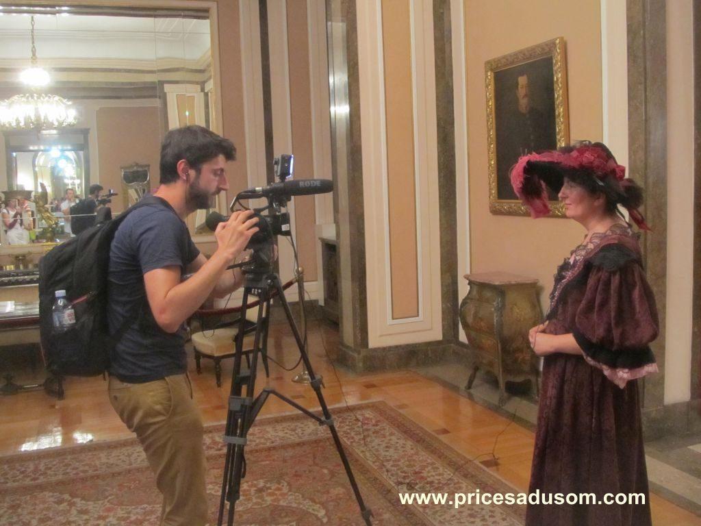 Olgica daje intervju francuskom novinaru_1024x768