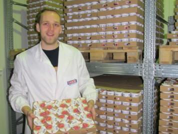 Maksimalni kapacitet mlekare Bodri je 5.000 kg voćnog jogurta u smeni od osam sati
