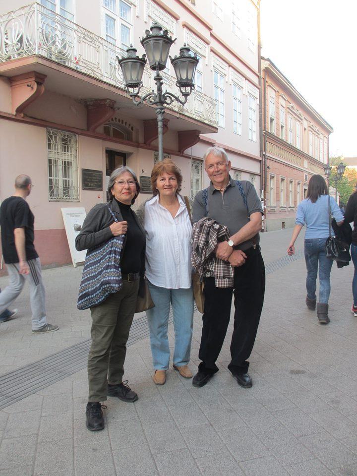 Dubravka Bajkin NS griters s parom iz Turske