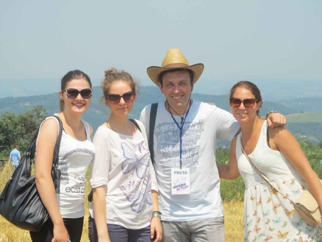 Kosidbu su posetili i predstavnici Tima za ruralni turizam Udruženja Mladi za turizam iz Beograda