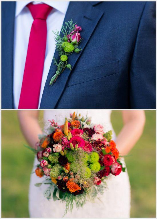 Jer boja njegove kravate diktira boju korsaža i bidermajera-Foto Miralem Causevic_549x768