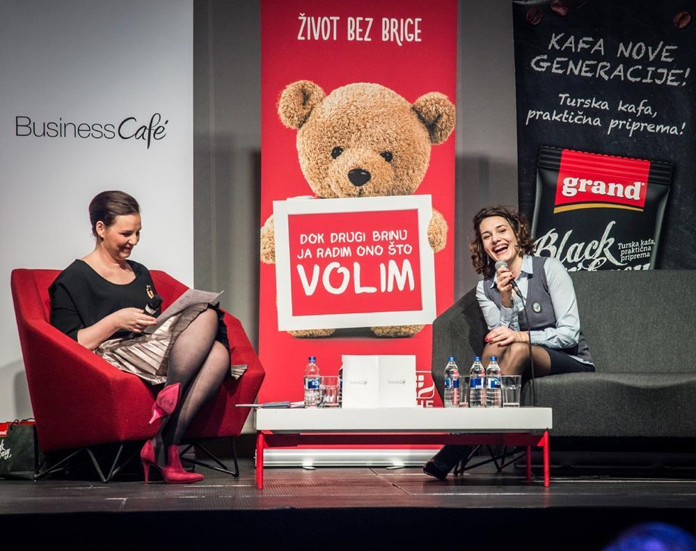 Milica Calija sa Kristinom Ercegovic
