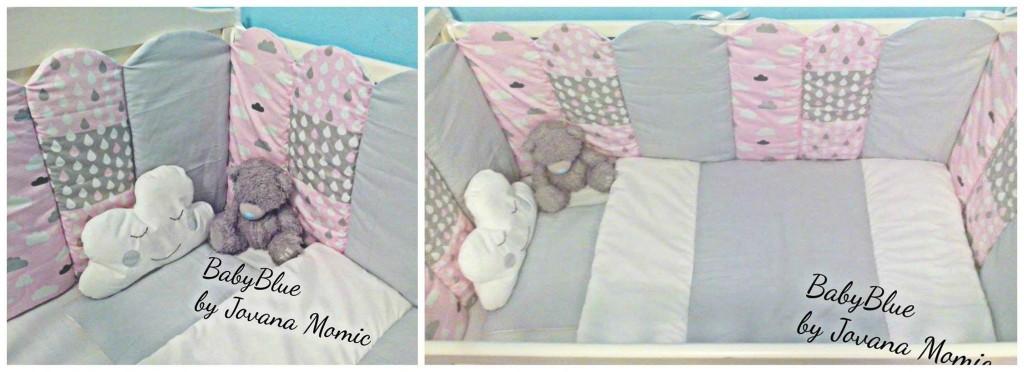 Posteljine za bebe Baby Blue
